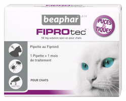 FIPROtec, solution spot-on anti-puces et anti-tiques