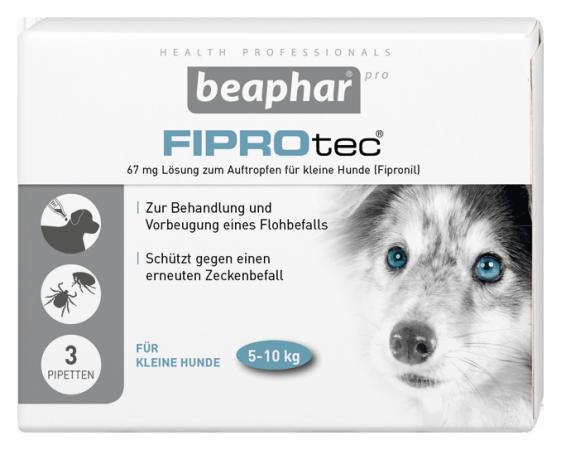 fiprotec spot on l sung f r hunde fl he bek mpfen beaphar pro. Black Bedroom Furniture Sets. Home Design Ideas