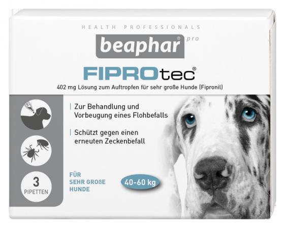 FIPROtec® 402mg SPOT ON Lösung für sehr große Hunde (40-60 kg)