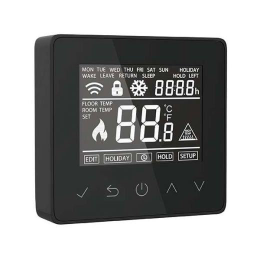 PE02 Digital Touchscreen Thermostat (16A)