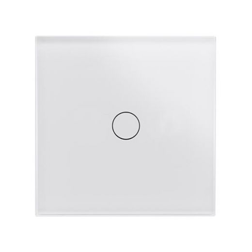 Crystal PG 1G Touch Light Switch White