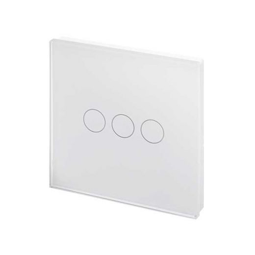 Crystal PG 3G Touch Light Switch White