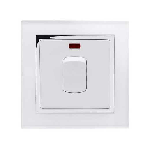 Crystal CT 20A DP Switch With Neon White