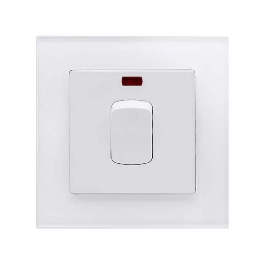 Crystal PG 20A DP Switch With Neon White