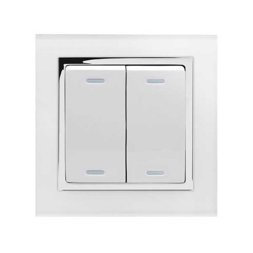 Crystal Enocean CT Smart Switch White