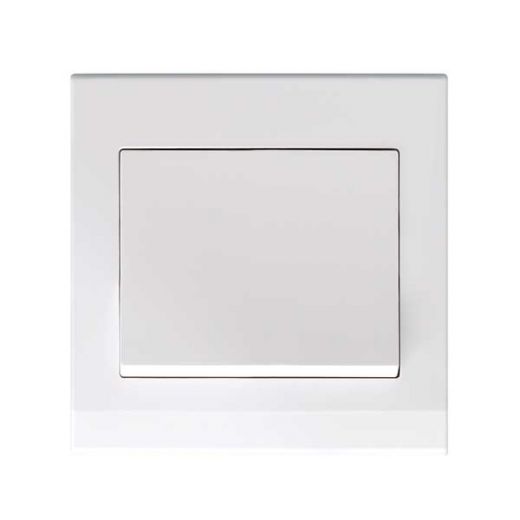 Simplicity Mechanical Light Switch 1G White