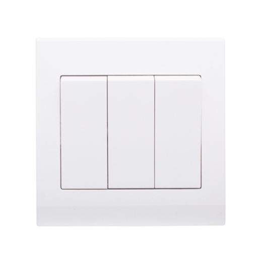 Simplicity Mechanical Light Switch 3G White