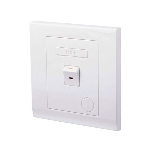 Simplicity 13A Switched Fused Connection Unit White