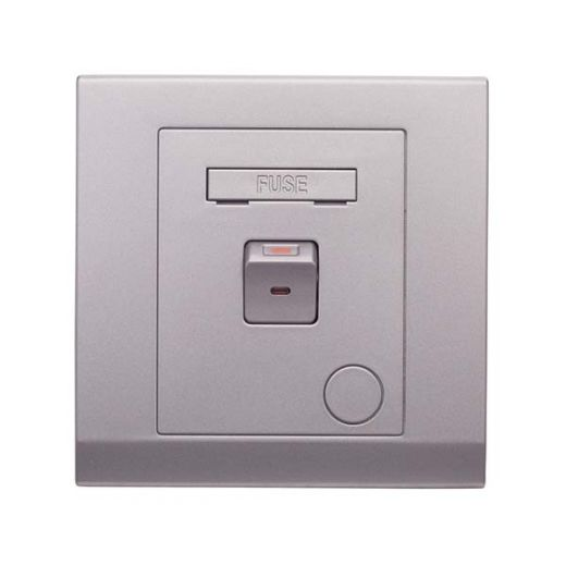 Simplicity 13A Switched Fused Connection Unit Mid Grey
