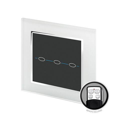 Crystal CT 3G Touch & Remote Light Switch White