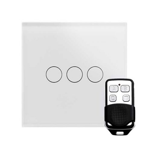 Crystal PG 3G Touch & Remote Light Switch White