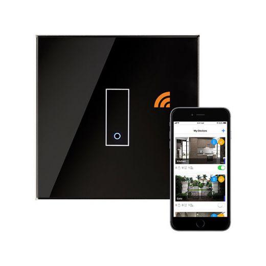 Crystal PG 1G Iotty Wifi Smart Switch Black