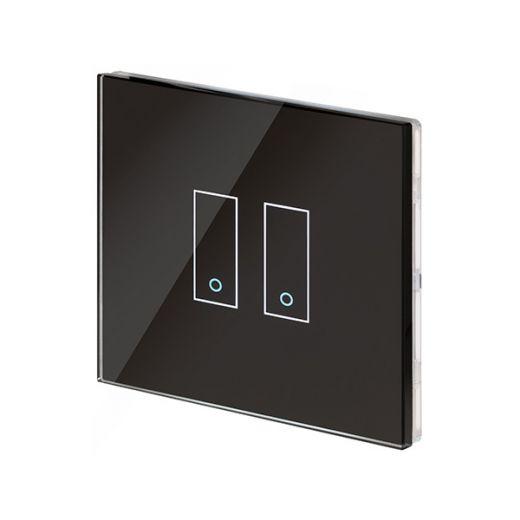 Crystal PG 2G Iotty Wifi Smart Switch Black