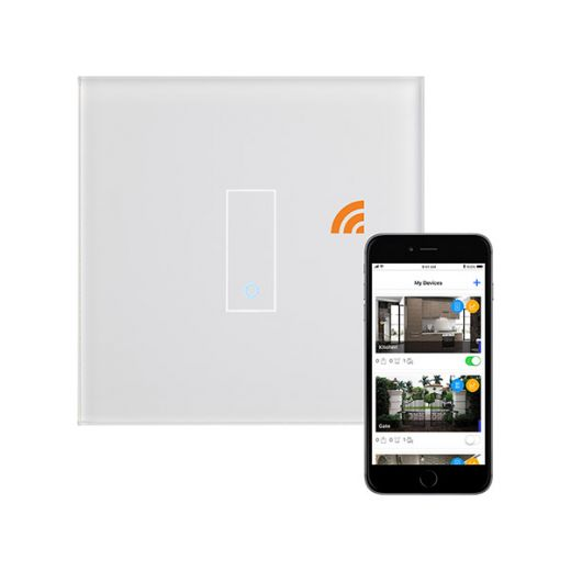 Crystal PG 1G Iotty Wifi Smart Switch White