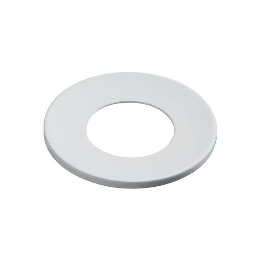 Knightsbridge White Fixed Bezel for EVOICF Evolve Downlights - EVOWHF