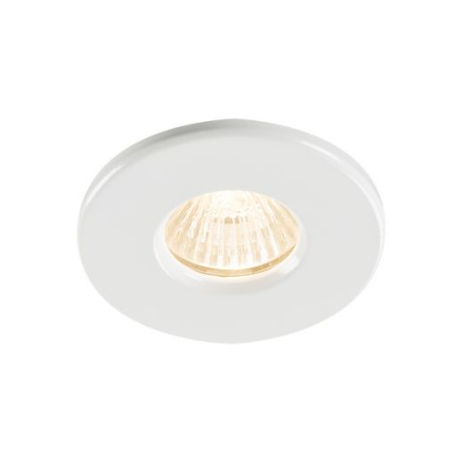 Knightsbridge 230V IP65 GU10 Recessed Bathroom Downlight - RDSHW