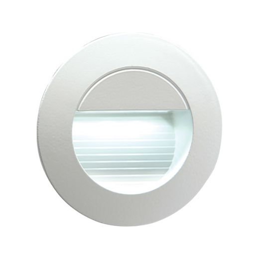 Knightsbridge 230V Miniature Recessed IP54 Indoor/Outdoor LED Guide Light - NH020W