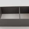 AMBIA-LINE High Fronted Pull-Out Frame to suit LEGRABOX, 242mm wide, Orion Grey