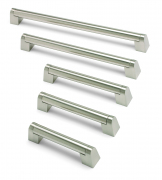 Boss bar handle, 409mm centres