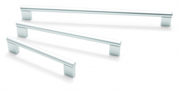 Aries, bar handle, 592mm centres, aluminium