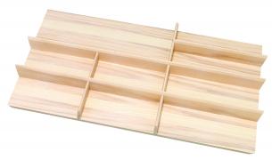 Ash Cutlery Tray 800