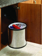 Side Door Mounted Cylindrical Bin