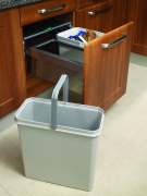 Side Mounted Pull-Out Waste Bin System