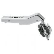 CLIP TOP / CLIP HINGE With BLUMOTION, OVERLAY, 110° Opening, + 45° Angled Overlay, Screw-On