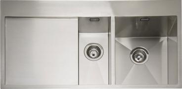 Cubit 150, 1.2mm, Satin Stainless Steel, 1.5 Bowl