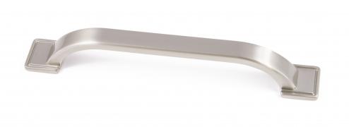 WINDSOR, 'D' Handle, 160mm Centres, Brushed Nickel