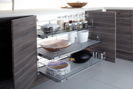 Individual Pull-out Organizers-Soft Close 1000