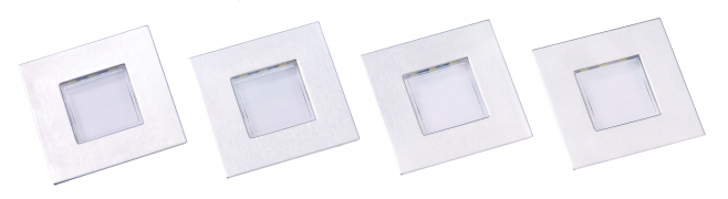 Luce - Square Plinth Light, 4 lights, Warm White