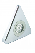 Novus - HD LED Under Cabinet Triangle Light, Single Light, Warm White