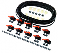 TANDEMBOX cable pack, includes 8m cable, 30 distance bumpers, 10 cable clips, 10 connecting nodes & 5 end caps
