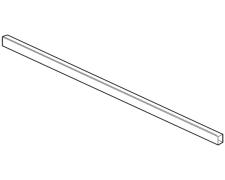 LEGRABOX, Internal Drawer Front Rail, 'Cut-to-Size', 1080mm Long, Orion Grey