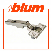CLIP TOP / CLIP HINGE, OVERLAY,110° Opening, Screw-On