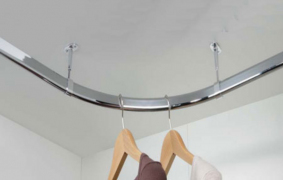90° Corner oval hanging rail 30 x 15mm