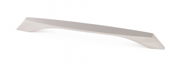 WELLINGTON, 'D' Handle, 192mm Centres, Brushed Nickel