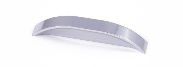PICCADILLY, 'D' Handle, 96mm Centres, Chrome
