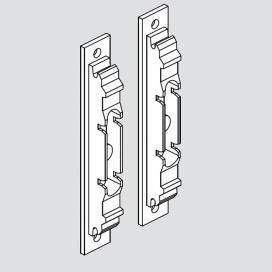 AVENTOS HK, Front Fixing Bracket Set, To Suit Solid Doors