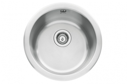 Form 45, 0.8mm Satin Stainless Steel, Single Bowl