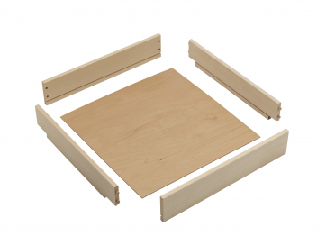 Unassembled Beech Wooden Drawer