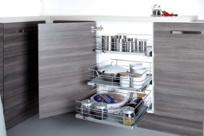 Individual Pull-out Organizers-Soft Close