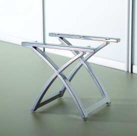 Modern stool base (flat top)