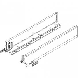 LEGRABOX, High Drawer Sides (Pair), Orion Grey