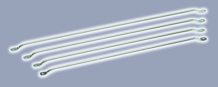Curtain rail, 410mm centres, 422mm length