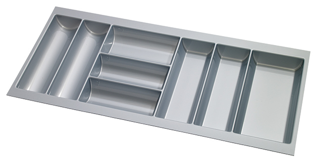 To suit TANDEMBOX, 450mm deep, silver