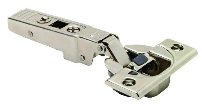 CLIP TOP / CLIP HINGE With BLUMOTION, OVERLAY, 95° Opening, For Profile/Thick Doors, Screw-On