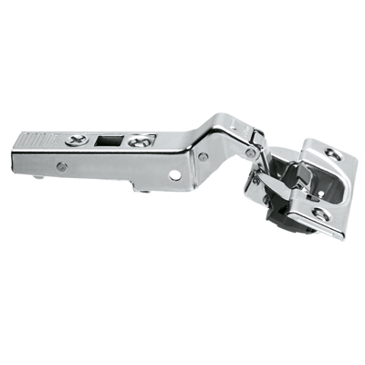 CLIP TOP / CLIP HINGE With BLUMOTION, OVERLAY, 30° II Angled Hinge, Boss: Screw-On