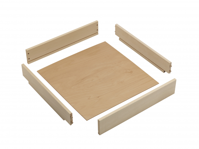 Wooden Drawer Box, 87 x 398 x 440mm